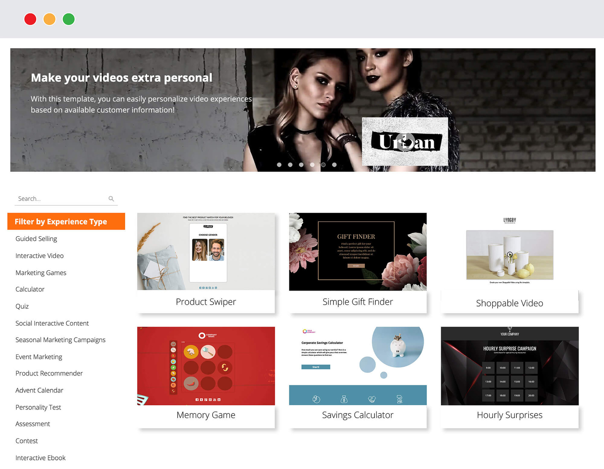 Interactive content platform - Dot.vu Marketing Place Overview