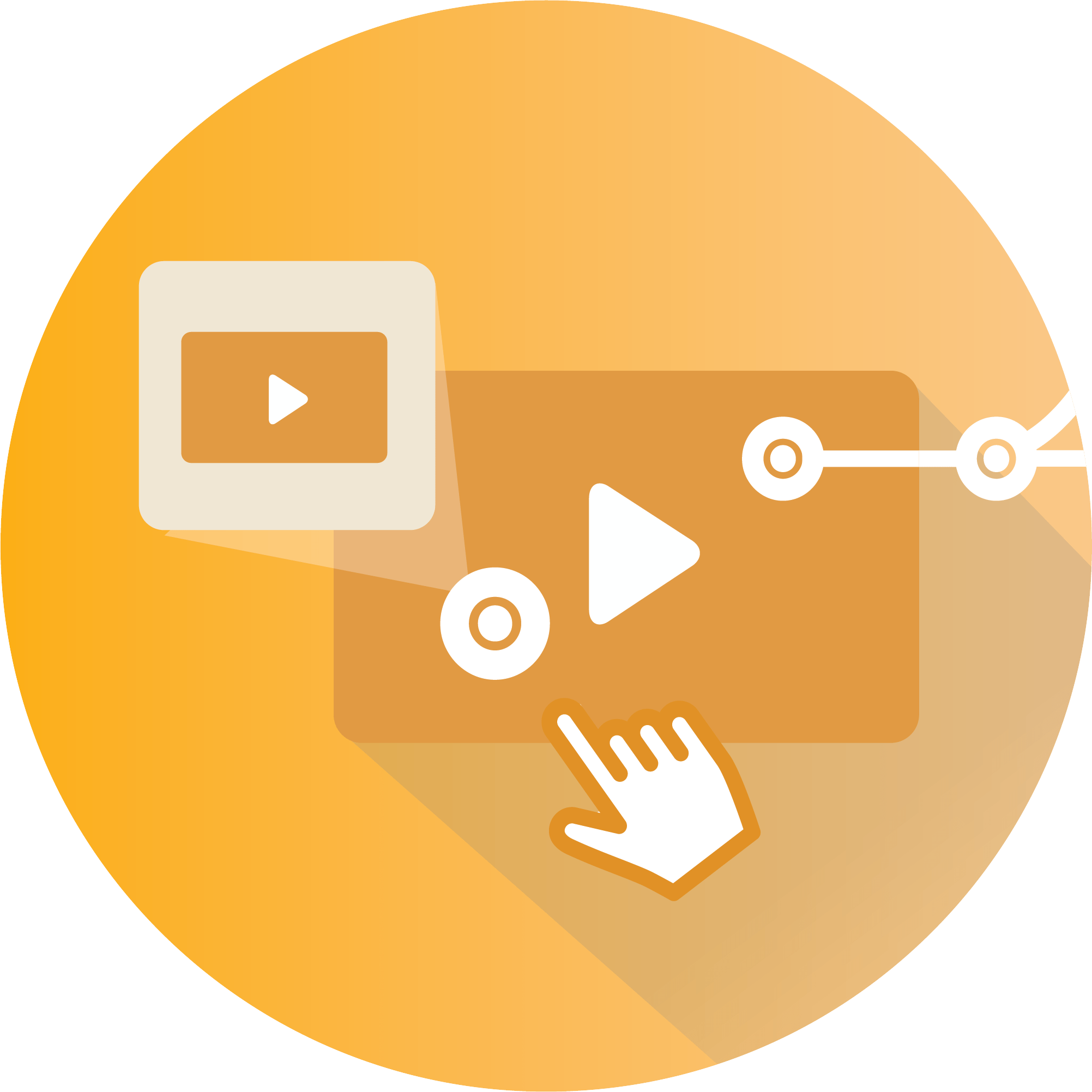 Interactive Videos - Branching Video Icon