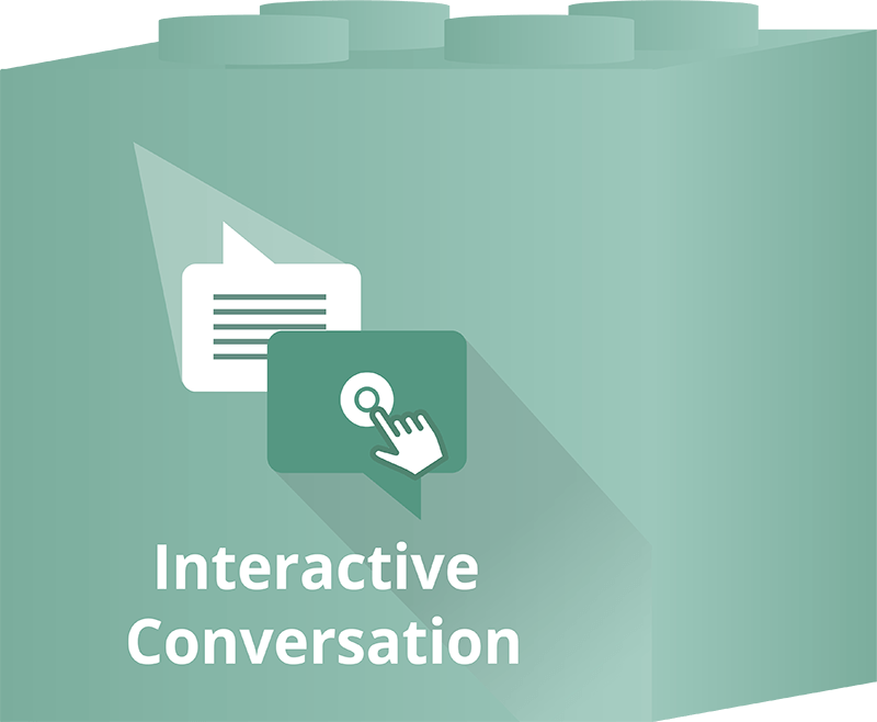 Advanced features - Dot.vu Interactive Content Platform - Interactive Conversation