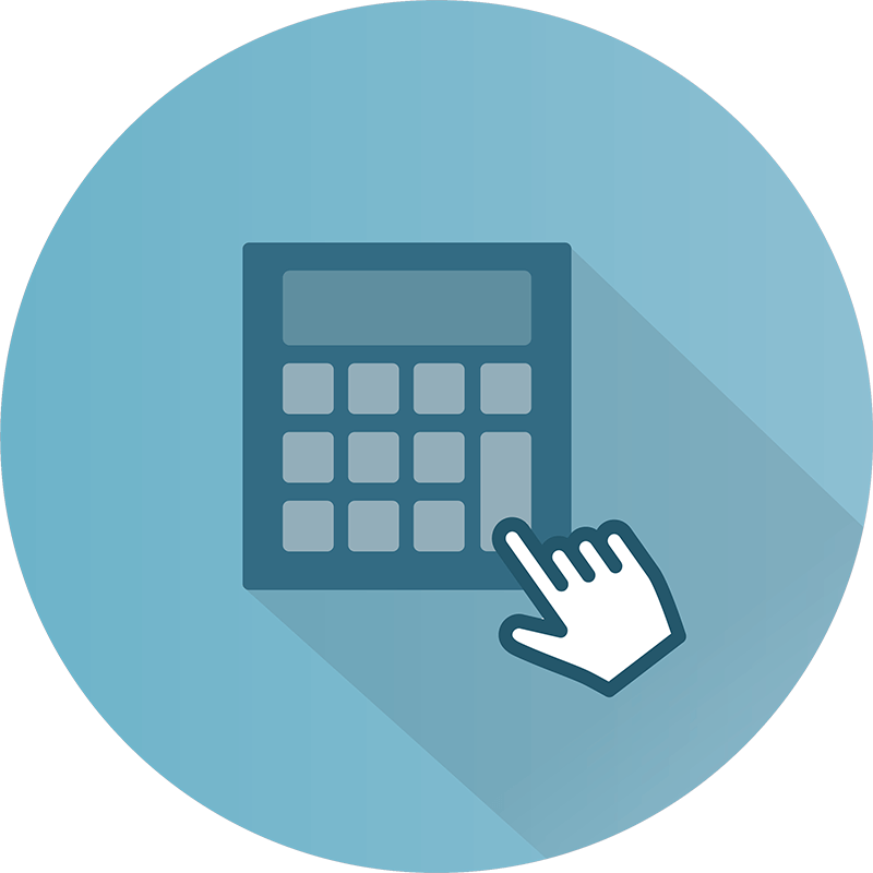 Interactive Experiences - Calculator Icon