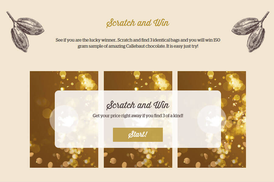 Dot.vu Interactive Content Platform - Customer Examples - Risskov Rejser - Advent Calender -  See other examples