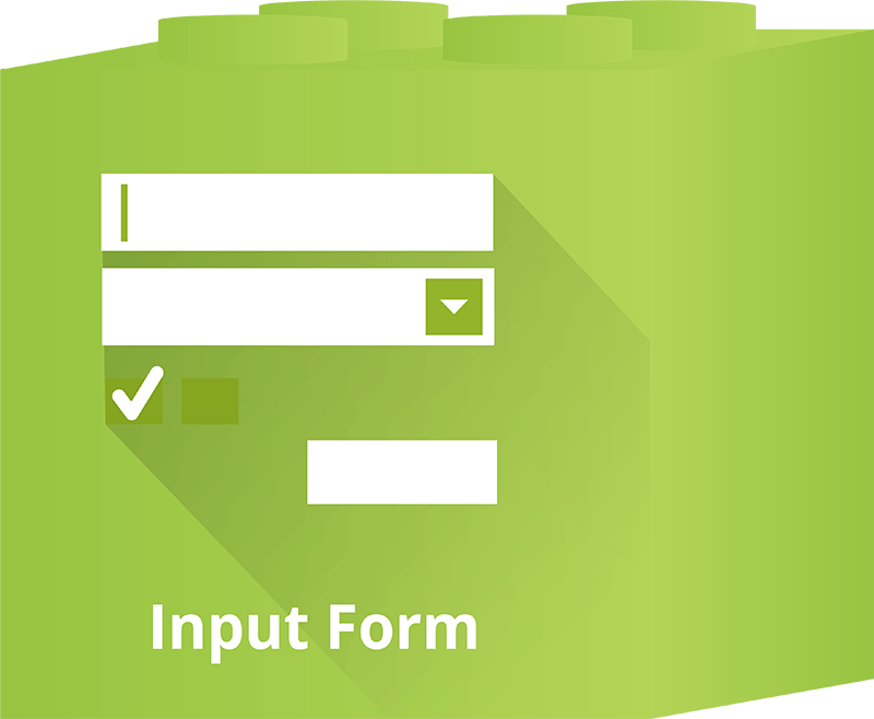 Advanced features - Dot.vu Interactive Content Platform - Input Form