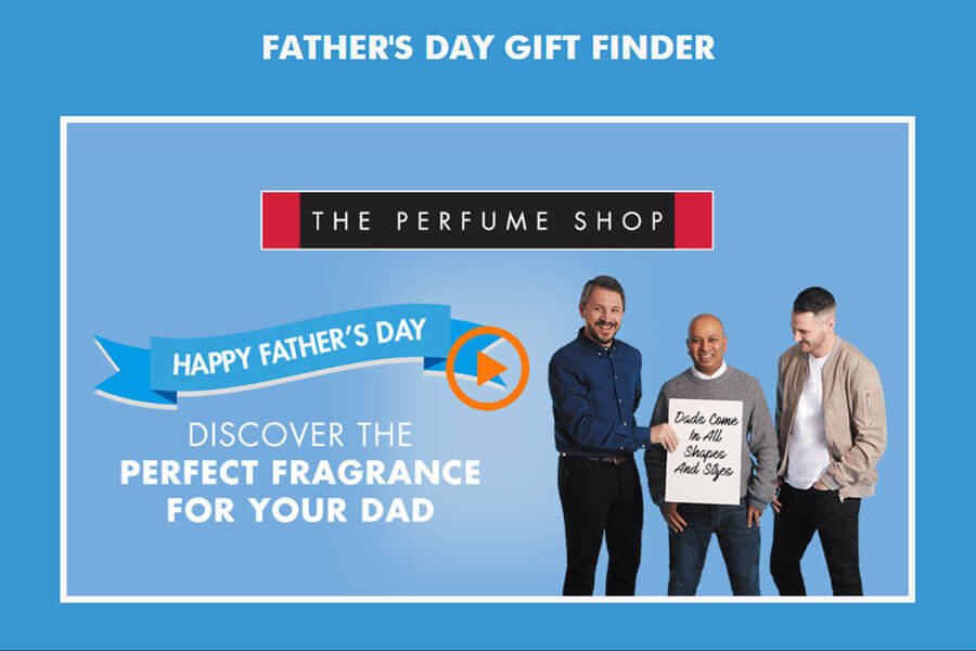 Dot.vu Interactive Content Platform - Customer Examples - Father's day gift finder