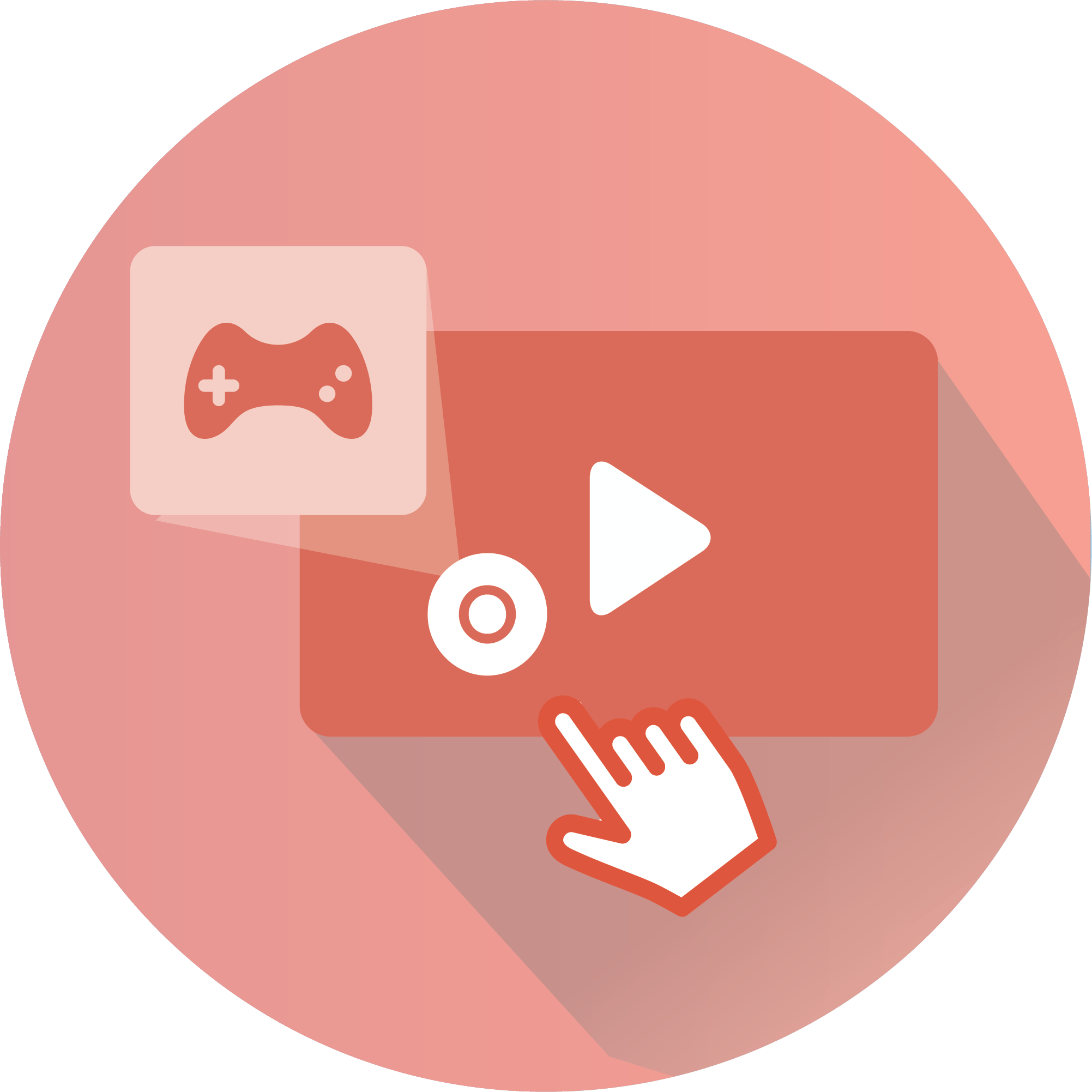 Interactive Videos - Gamified Video Icon