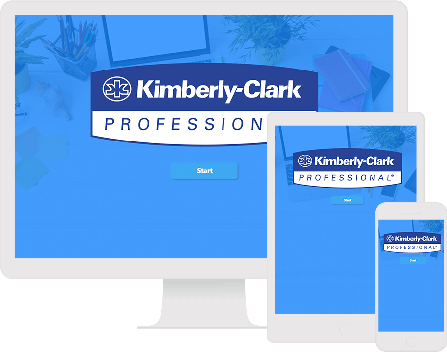 Dot.vu Interactive Content Platform - Customer Examples - Kimberly-Clark - Interactive Display - Cover Picture